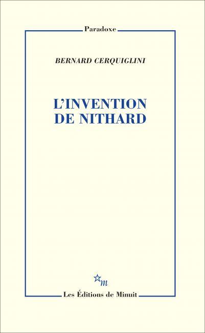 B. Cerquiglini, L'Invention de Nithard