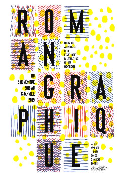 Roman graphique (Fondation Jan Michalski, Montrichet, Suisse)