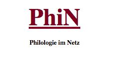 PhiN. Philologie im Netz, n°86/2018
