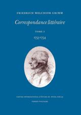 Friedrich Melchior Grimm, Correspondance littéraire. Tome XI. 1764.