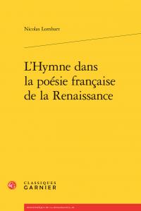 N. Lombart, L'Hymne dans la poésie française de la Renaissance
