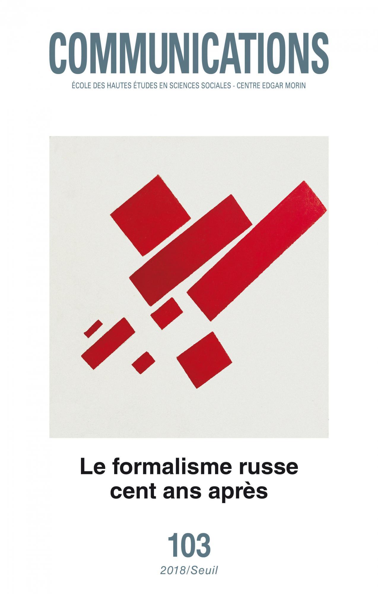 Un siècle de formalisme