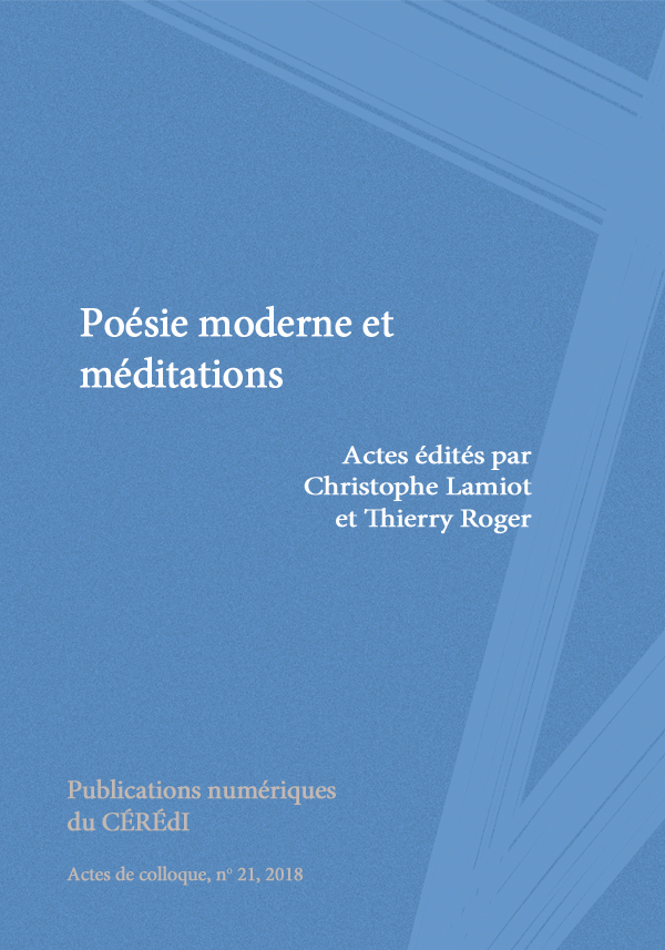 <em>Poésie moderne et méditations</em>