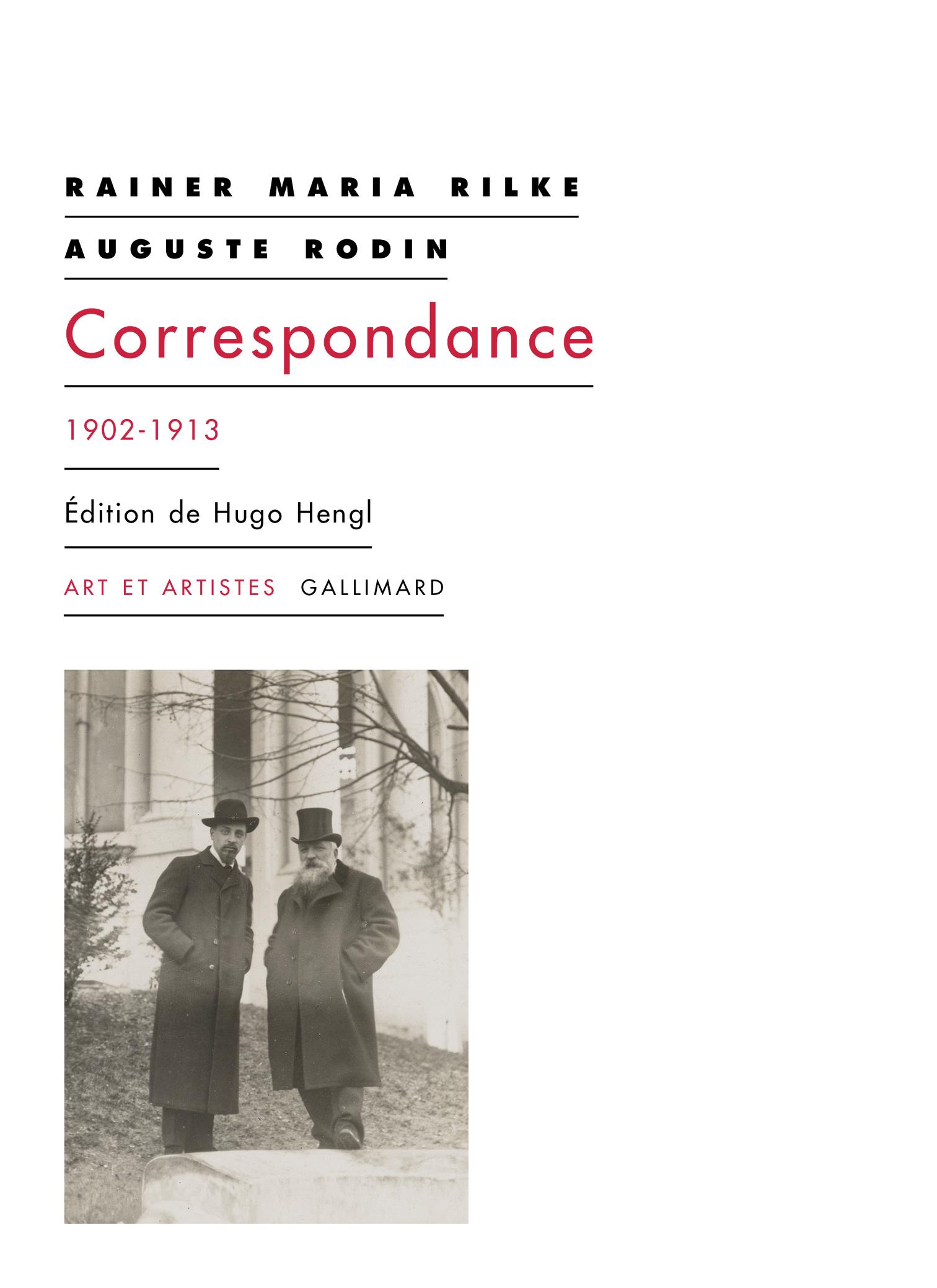 R.M. Rilke, A. Rodin, Correspondance (1902-1913)