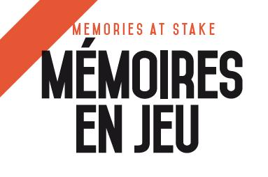 Mémoires en jeu / Memories at Stake, n° 7: