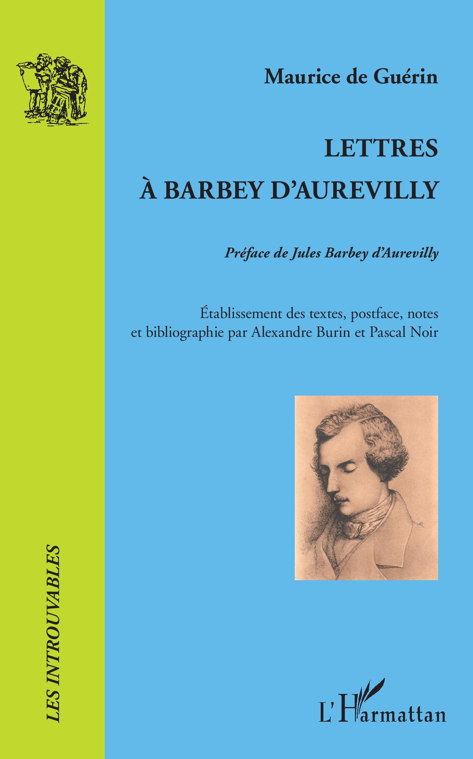 M. de Guérin, Lettres à Barbey d'Aurevilly