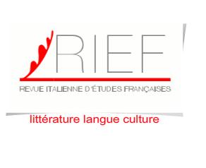 <em>Revue italienne d'études françaises (RIEF)</em> n° 8 (2018):
