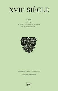<em>XVII<sup>e</sup> siècle, </em>n°281