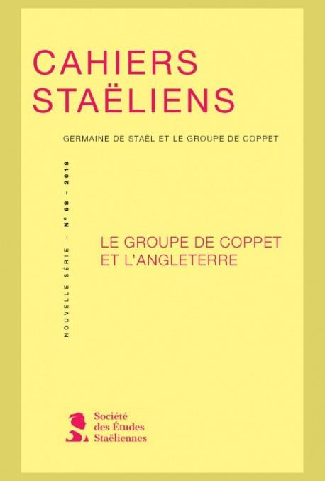 Cahiers Staëliens, n° 68: