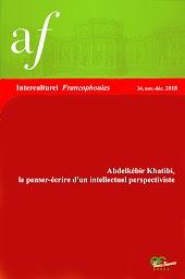Interculturel Francophonies, n° 34, nov.déc. 2018: