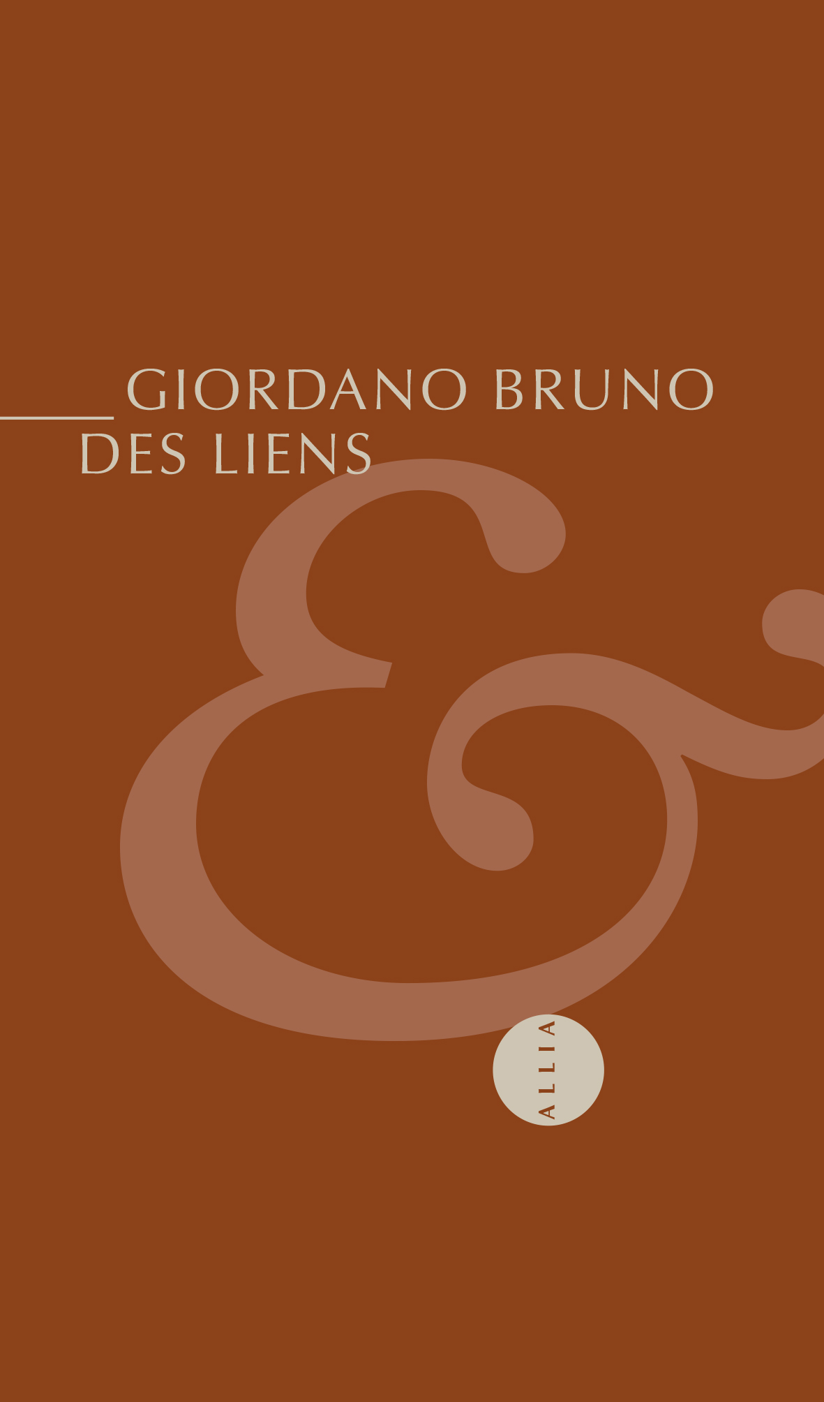 G. Bruno, Des liens