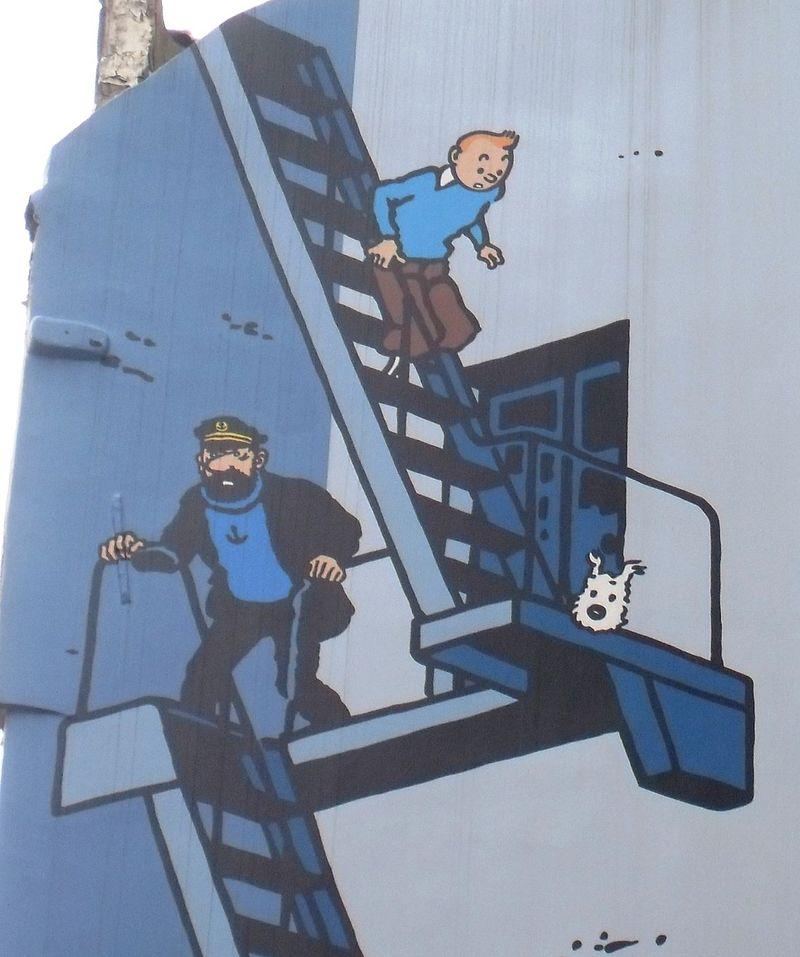Ph. Sohet, <em>Commentaire de Planche : Hergé et la tabularité</em>