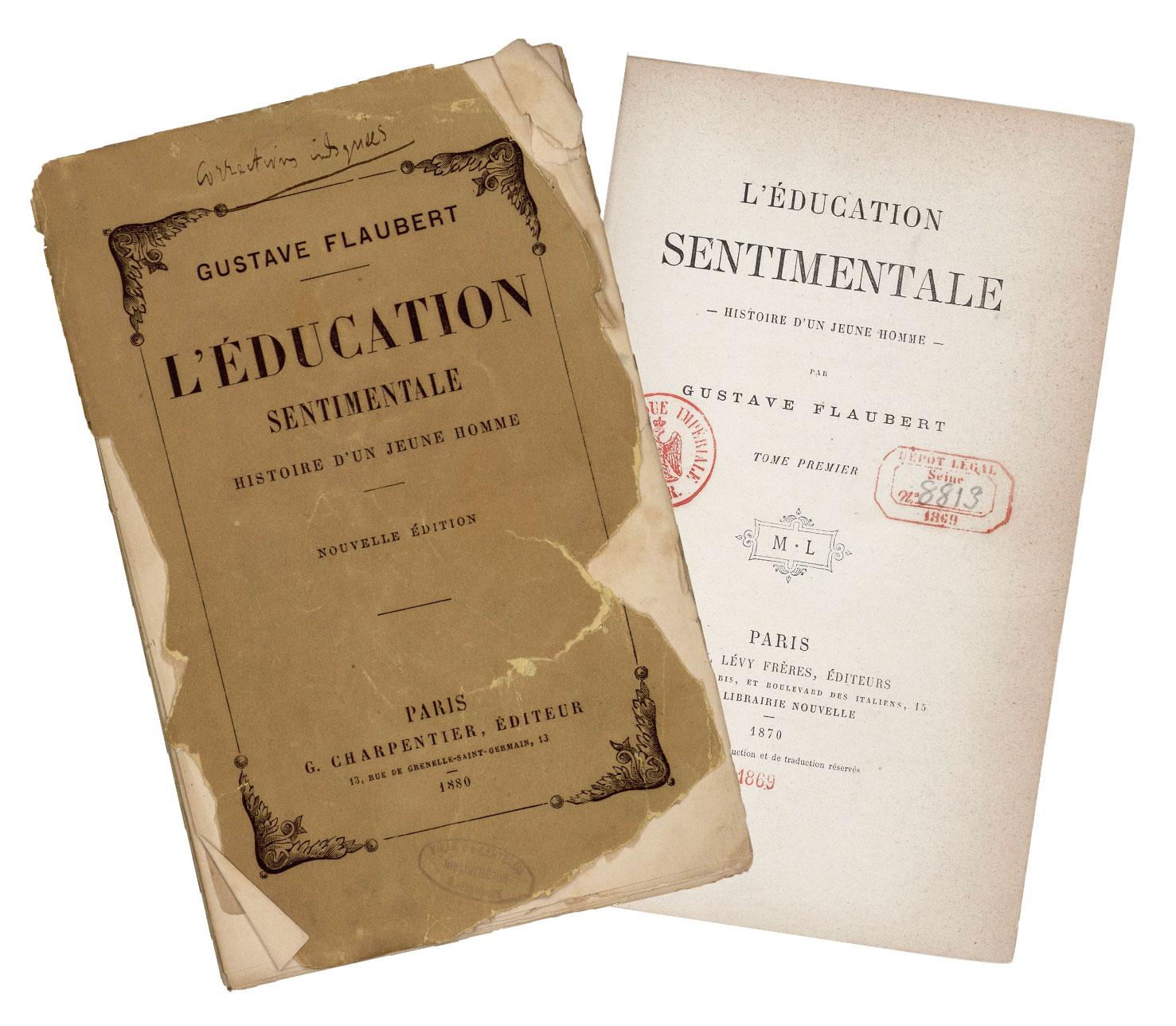 Gustave Flaubert : <em>L'Éducation sentimentale</em> en ligne sur la plateforme Variance
