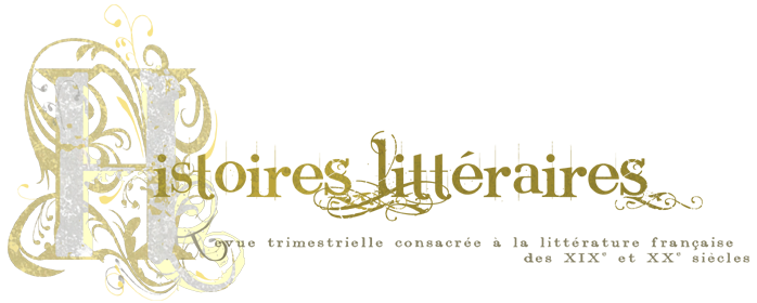 Histoires Littéraires, n° 76