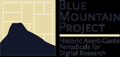 Projet Blue Montain (Princeton) : les revue des avant-gardes du XXe au format numérique