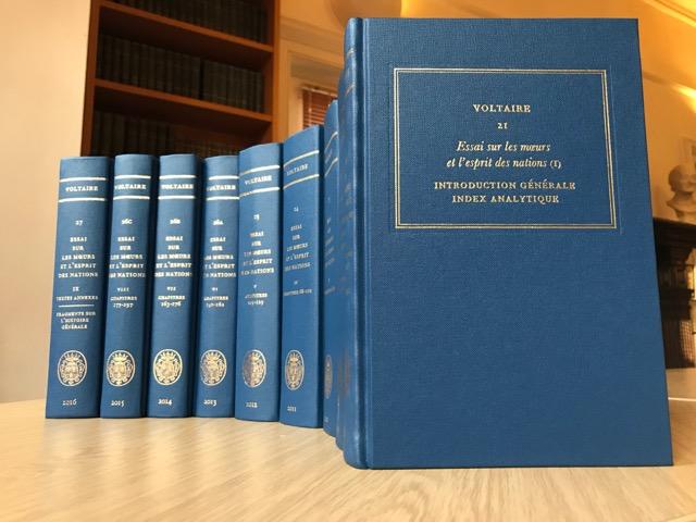 Voltaire, Essai sur les mœurs et l'esprit des nations (I): Introduction générale, Index analytique (éd. B. Bernard, J. Renwick, N. Cronk, J. Godden)