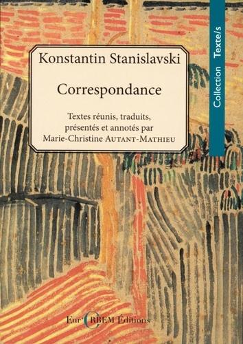C. Stanislavski, Correspondance (1886-1938)
