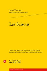 James Thomson, Les Saisons, et Kristijonas Donelaitis, Les Saisons (éd. L. Folliot, N. Vaičiulėnaitė-Kašelionienė et C. Paliulis)