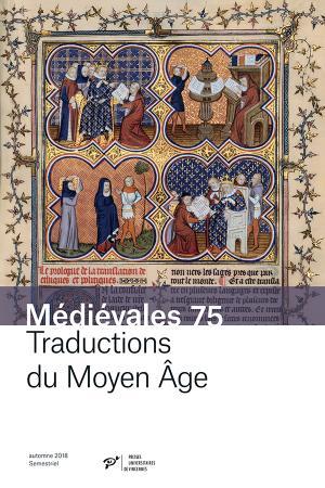 Médiévales, n° 75: