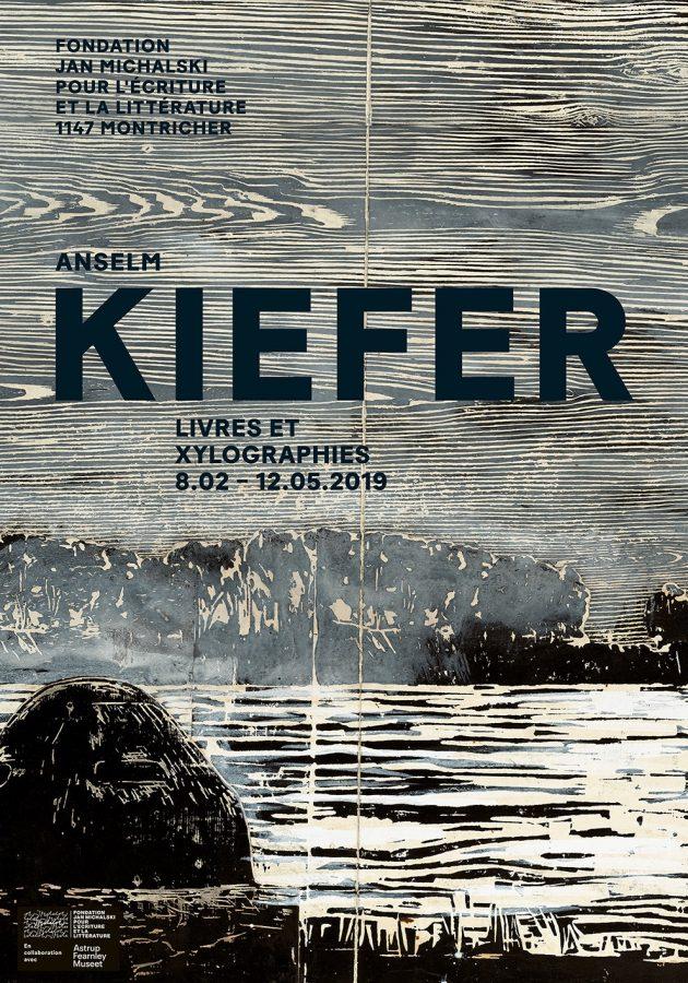 Exposition Anselm Kiefer, Livres et xylographies (Fondation Jan Michalski, Montricher, Suisse)