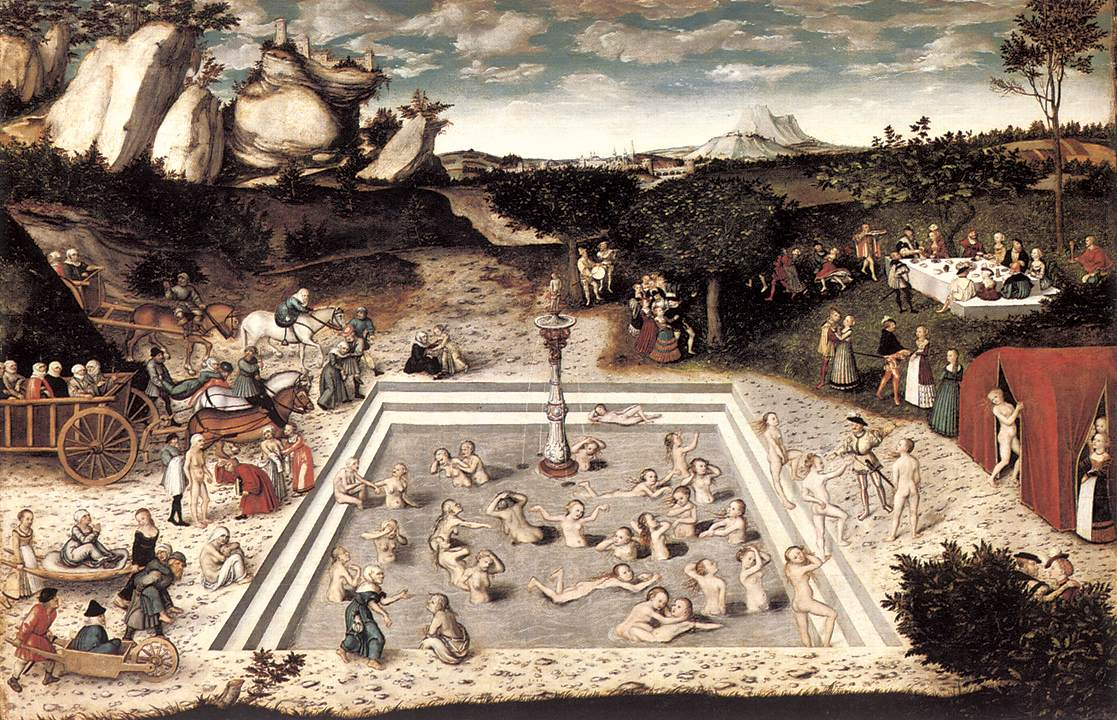 <em>Le Verger</em>, Bouquet XIV : <em>L'Adolescence clémentine</em> de Marot<em> </em>(Site Cornucopia)