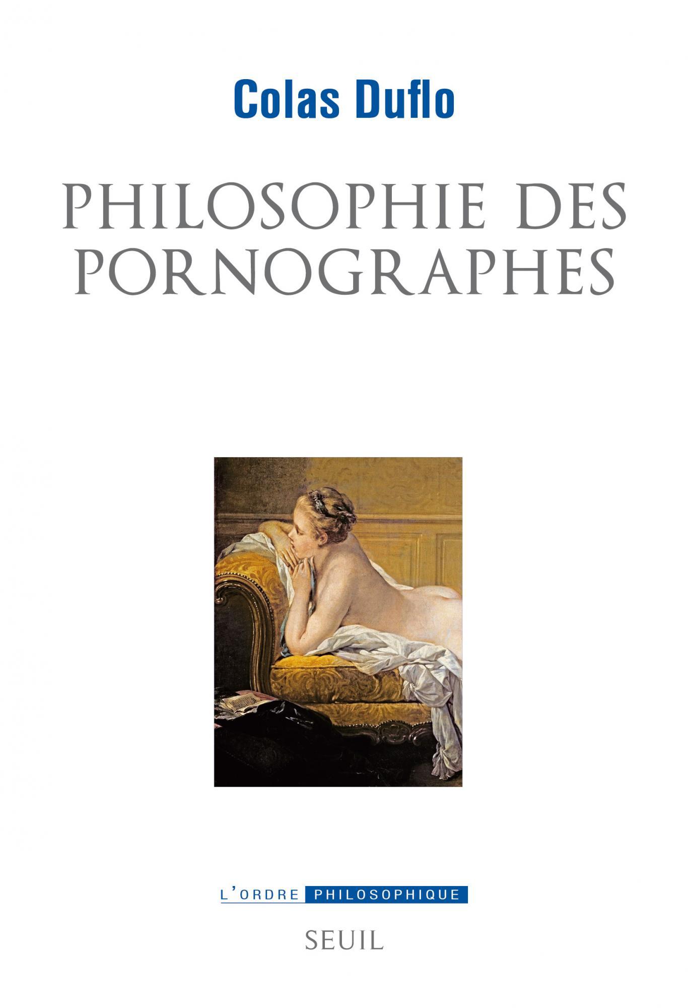 C. Duflo, Philosophie des pornographes