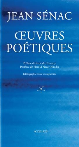 J. Sénac, Œuvres poétiques