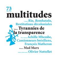 L'Afrique en théorie, par Achille Mbembe (revue <em>Multitudes</em>)