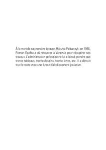 É. Watier, L'inventaire des destructions (nouvelle éd. augmentée)