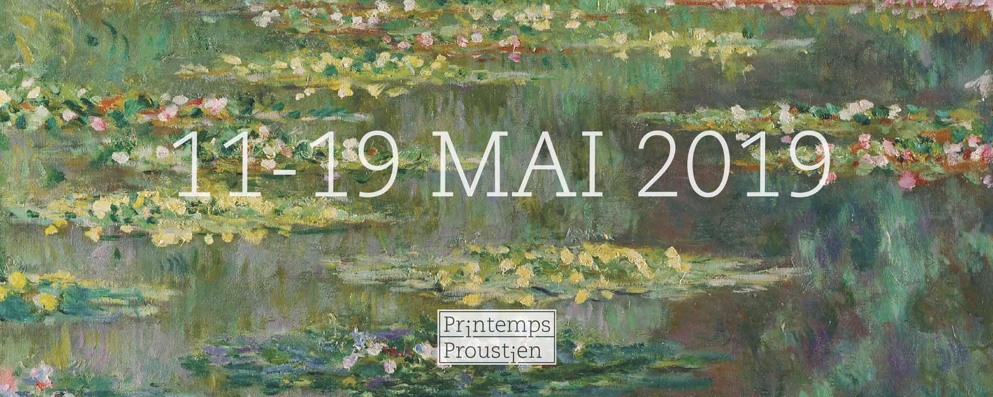 Première édition du Printemps Proustien (Eure-et-Loire, France)
