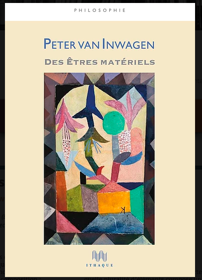 P. van Inwagen, Des êtres matériels