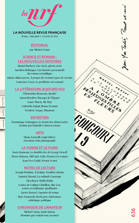 La Nouvelle Revue Française, n°636