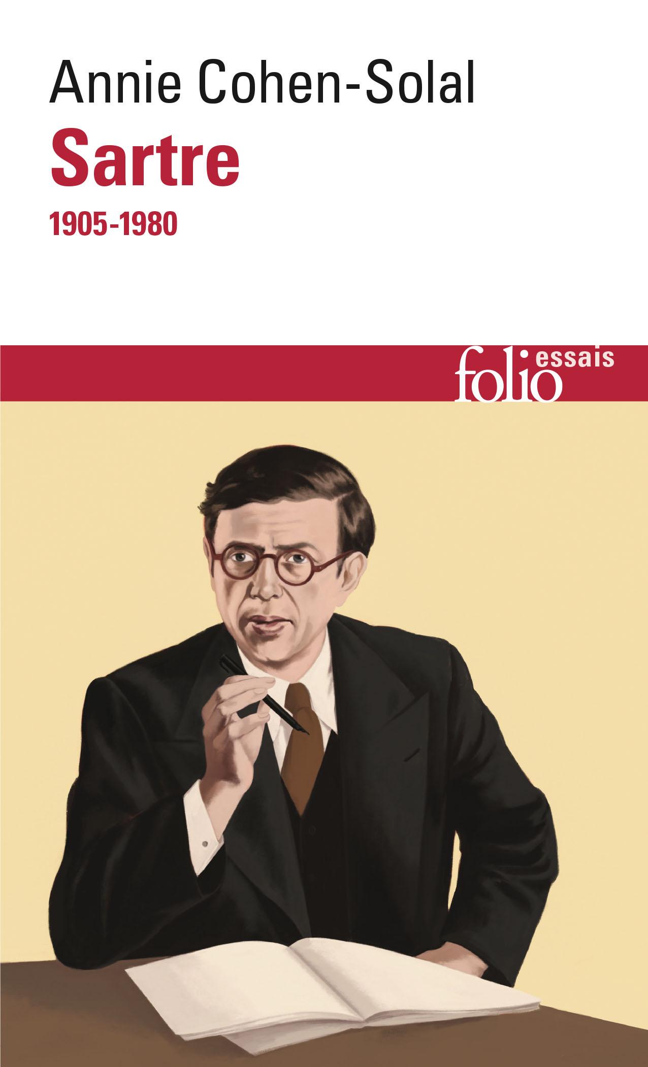A. Cohen-Solal,Sartre(1905-1980)