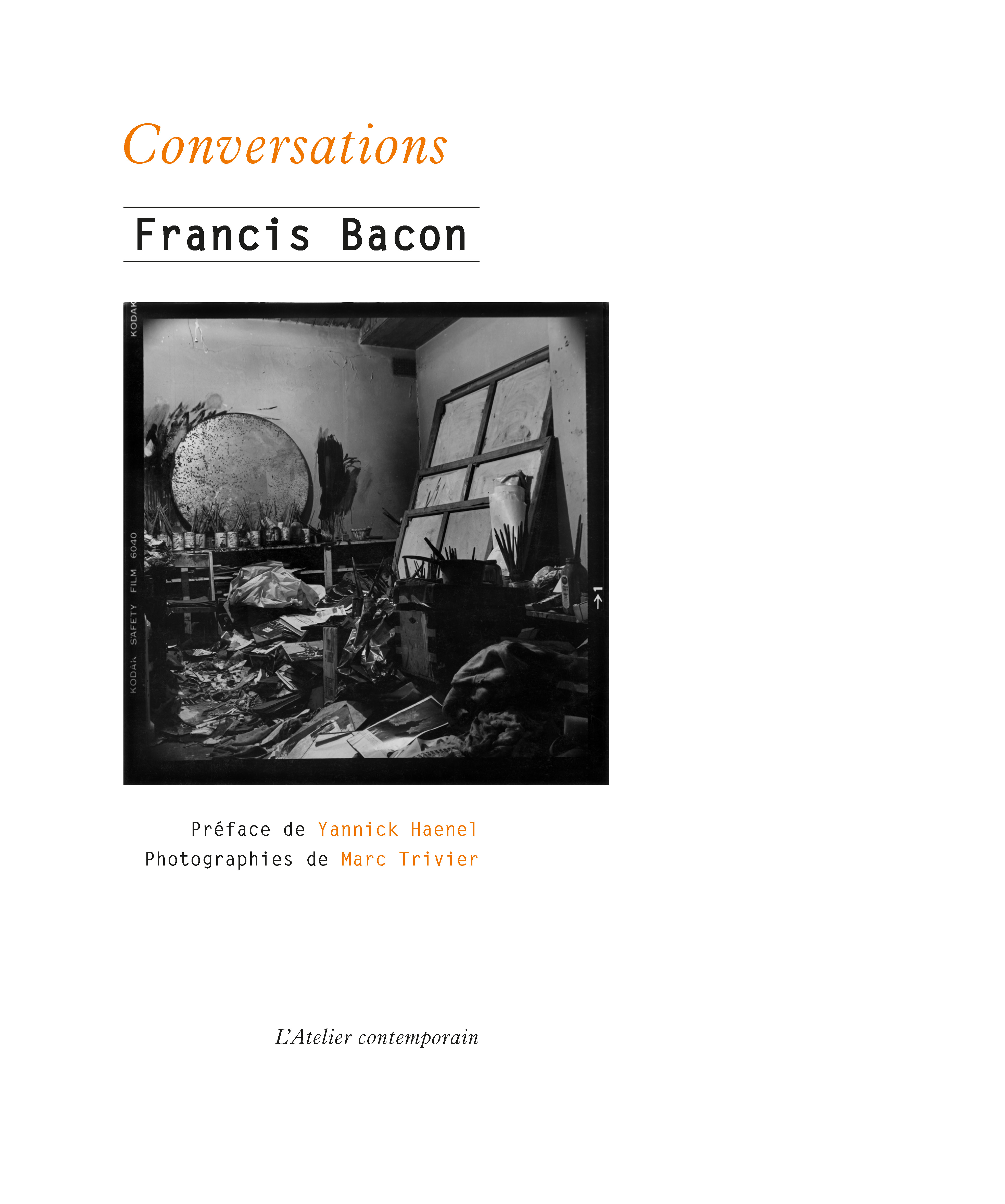 F. Bacon, Conversations