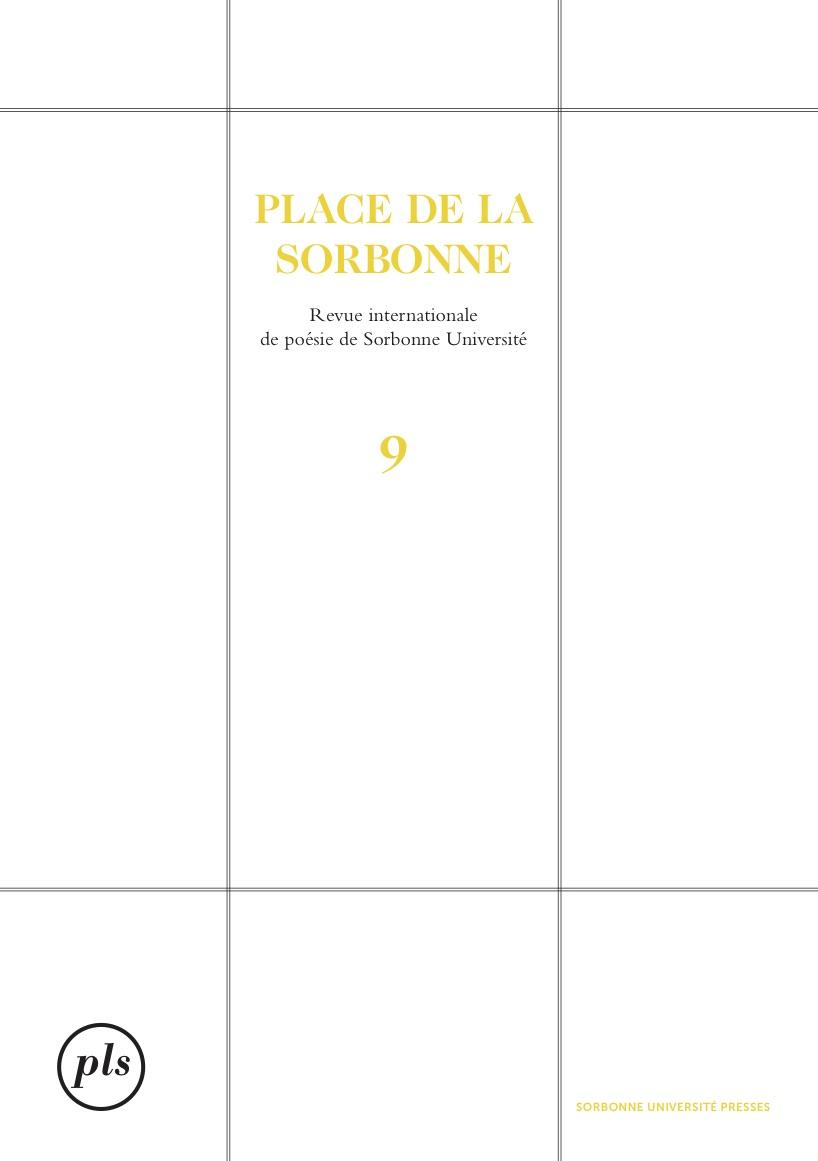 Revue Place de la Sorbonne, n°9