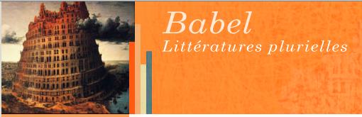 <em>Babel, Littératures plurielles</em>, n° 38 :