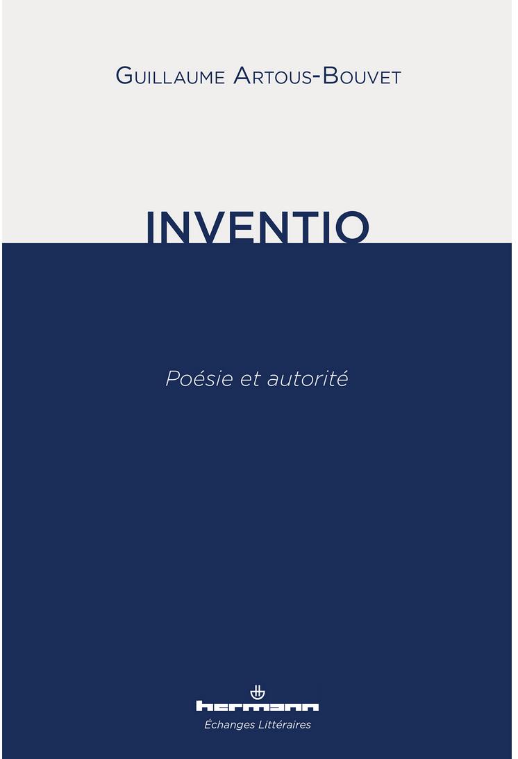G. Artous-Bouvet, Inventio, poésie et autorité
