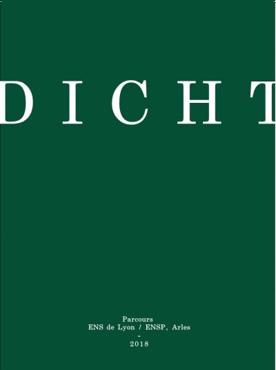 É. Dayre, Fabien Vallos (dir.), Dicht, écriture et photographie