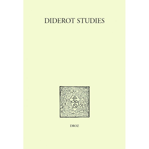 Diderot studies, tome 36