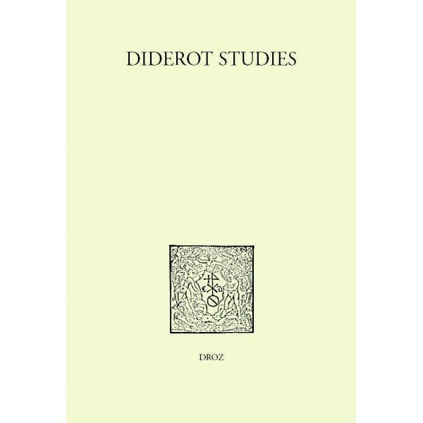 Diderot studies, tome 36