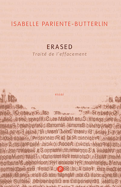 I. Pariente-Butterlin, Erased. Traité de l'effacement
