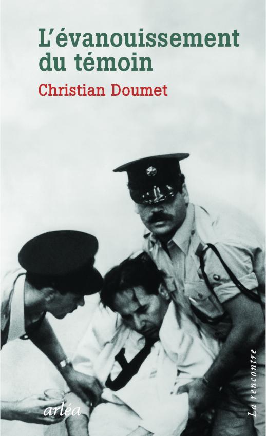 Christian Doumet parle de L'Evanouissement du témoin (Paris Sorbonne)