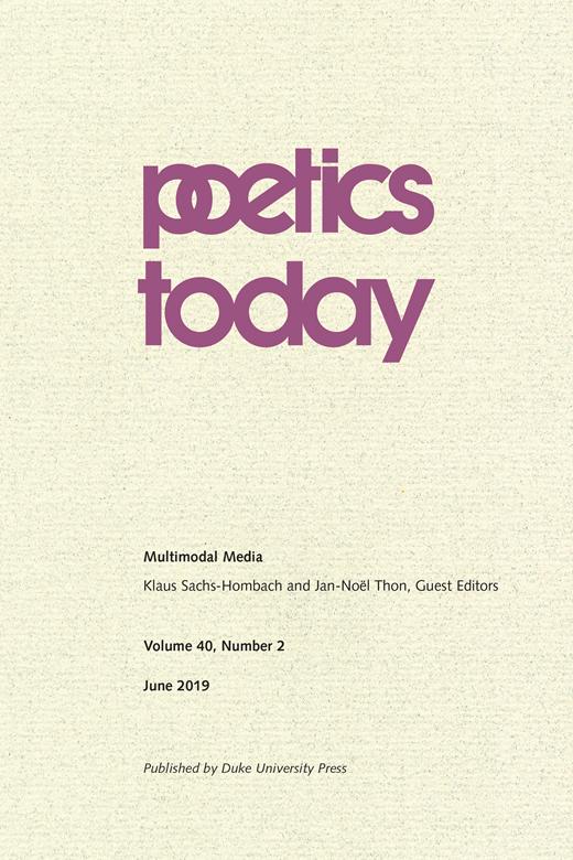 Poetics,n°40 :