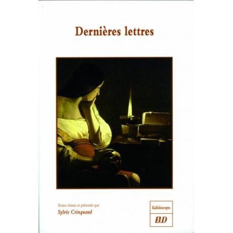 Dernières lettres (S. Crinquand, éd.)