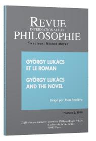 J. Bessière (dir.), György Lukács et le roman / György Lukács and the Novel