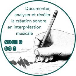 Revue musicale OICRM, vol. 6-1, 2019: