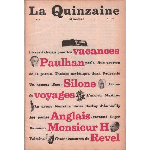 Les dix premières années (1966-1976) de <em>La Quinzaine littéraire </em>téléchargeables en ligne