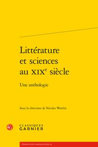Littérature et sciences au XIXesiècle