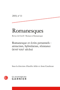 Romanesques, n°11 :