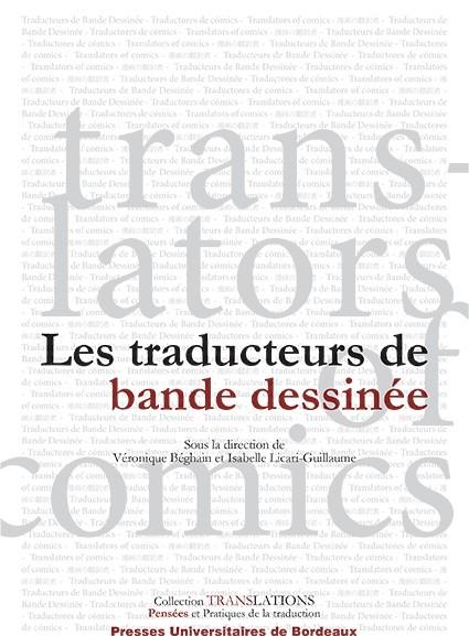 V. Béghain et I. Licari-Guillaume, Les traducteurs de bande dessinée